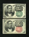 Fractional Currency:Fifth Issue, Fr. 1264 10¢ Fifth Issue Choice About New.. Fr. 1265 10¢ FifthIssue Very Choice New.... (Total: 2 notes)