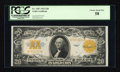 Large Size:Gold Certificates, Fr. 1187 $20 1922 Gold Certificate PCGS Choice About New 58....