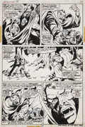 Original Comic Art:Panel Pages, Mike Ploog Werewolf by Night #15 page 27 Original Art(Marvel, 1974)....