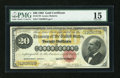 Large Size:Gold Certificates, Fr. 1178 $20 1882 Gold Certificate PMG Choice Fine 15....