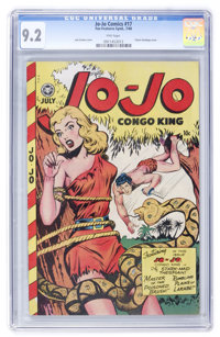 Jo-Jo Comics #17 (Fox Features Syndicate, 1948) CGC NM- 9.2 Pink pages