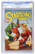 Golden Age (1938-1955):Science Fiction, Startling Comics #46 (Better Publications, 1947) CGC VF+ 8.5Off-white to white pages....