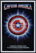 "Movie Posters:Action, Captain America (Columbia/Tristar, 1991). One Sheet (27"" X 41"") SSAdvance. Action.. ..."
