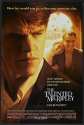 "Movie Posters:Crime, The Talented Mr. Ripley (Paramount, 1999). One Sheet (27"" X 40"") DS Advance. Crime.. ..."