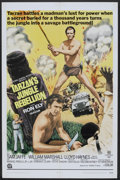"Movie Posters:Adventure, Tarzan's Jungle Rebellion (National General, R-1970). One Sheet(27"" X 41""). Adventure.. ..."