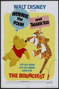 "Movie Posters:Animated, Winnie the Pooh and Tigger Too! (Buena Vista, 1974). One Sheet (27"" X 41""). Animated.. ..."