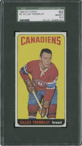 Hockey Cards:Singles (1960-1969), 1964-65 Topps Gilles Tremblay #2 SGC 92 NM/MT+ 8.5....