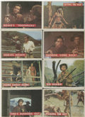 Non-Sport Cards:General, 1956 Topps Davy Crockett Orange Back Complete Set (80) and GreenBack Partial Set (67)....