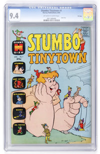 Stumbo Tinytown #1 File Copy (Harvey, 1963) CGC NM 9.4 Off-white to white pages