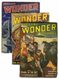 Pulps:Science Fiction, Thrilling Wonder Stories Group (Beacon, 1941-51) Condition: AverageFN.... (Total: 3 Items)