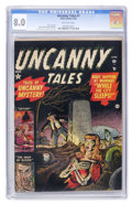 Golden Age (1938-1955):Horror, Uncanny Tales #1 (Atlas, 1952) CGC VF 8.0 Off-white pages....