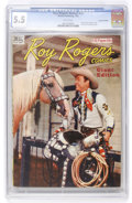 Golden Age (1938-1955):Western, Roy Rogers Annual #nn Canadian Edition (Wilson Publishing, 1947)CGC FN- 5.5 White pages....