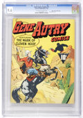 Golden Age (1938-1955):Western, Gene Autry Comics #1 Mile High pedigree (Fawcett, 1942) CGC NM+ 9.6Off-white to white pages....