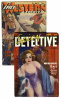Pulps:Detective, Spicy Detective/Spicy Western Group (Culture, 1936-41) Condition: Average FN.... (Total: 2 Items)