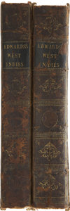 Books:Non-fiction, Bryan Edwards. The History, Civil and Commercial, of the BritishColonies in the West Indies. London: Printed fo... (Total: 2Items)