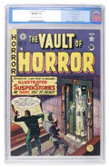Golden Age (1938-1955):Horror, Vault of Horror #13 Gaines File pedigree 1/9 (EC, 1950) CGC NM/MT9.8 Off-white to white pages....