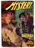 Pulps:Horror, Spicy Mystery Stories - February 1936 (Culture, 1936) Condition:GD+....