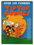 Golden Age (1938-1955):Miscellaneous, Tip Top Comics #4 Lost Valley pedigree (United Features Syndicate, 1936) Condition: VF-....