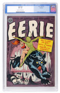 Golden Age (1938-1955):Horror, Eerie #10 Northford pedigree (Avon, 1952) CGC VF+ 8.5 Cream to off-white pages....