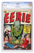 Golden Age (1938-1955):Horror, Eerie #8 Northford pedigree (Avon, 1952) CGC VF/NM 9.0 Off-whitepages....