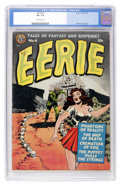 Golden Age (1938-1955):Horror, Eerie #4 (Avon, 1951) CGC VF- 7.5 Off-white pages....