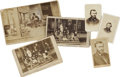 Photography:CDVs, Ulysses S. Grant, Six Cartes de Visite and Cabinet Card Images, including: three CDVs of Grant as general (o...