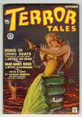 Pulps:Horror, Terror Tales - September 1934 (Popular, 1934) Condition: FN+....