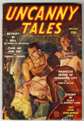 Pulps:Horror, Uncanny Tales - April 1939 (Red Circle, 1939) Condition: FN....