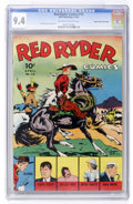 Golden Age (1938-1955):Western, Red Ryder Comics #12 Mile High pedigree (Dell, 1943) CGC NM 9.4 Off-white to white pages....