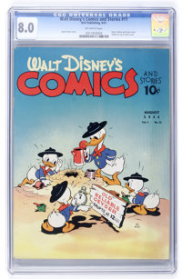 Walt Disney's Comics and Stories #11 (Dell, 1941) CGC VF 8.0 Off-white pages