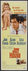"""Movie Posters:Crime, Joy House (MGM, 1964). Insert (14"""" X 36""""). Crime.. ..."""