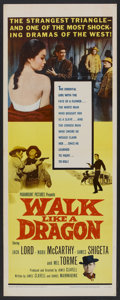 "Movie Posters:Western, Walk Like a Dragon (Paramount, 1960). Insert (14"" X 36""). Western....."