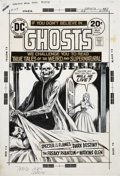 Original Comic Art:Covers, Nick Cardy Ghosts #26 Cover Original Art (DC, 1974)....