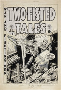"""Original Comic Art:Covers, Wally Wood Two-Fisted Tales #33 """"Signal Corps"""" CoverOriginal Art (EC, 1953)...."""