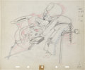 Animation Art:Production Drawing, Mickey's Amateurs Animation Production Drawing Original Art (Disney, 1937)....