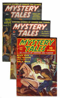 Pulps:Horror, Mystery Tales Group (Red Circle, 1938-40) Condition: AverageVG/FN.... (Total: 6 Items)