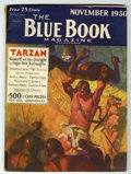 Pulps:Hero, Blue Book Edgar Rice Burroughs Group (McCall, 1930-32) Condition: Average VG.... (Total: 8 Items)