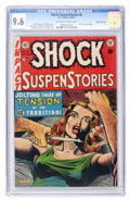 Golden Age (1938-1955):Horror, Shock SuspenStories #8 Gaines File pedigree 8/12 (EC, 1953) CGC NM+9.6 Off-white to white pages....