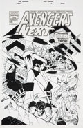 Original Comic Art:Covers, Mike Wieringo and Sean Parsons Avengers Next #2 CoverOriginal Art (Marvel, 2007)....