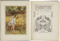 Books:Children's Books, The Treasure Book of Children's Verse. Arranged by Mabel andLilian Quiller-Couch. Illustrated in Colour by M. Ethel...
