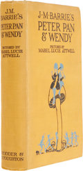Books:Children's Books, J. M. Barrie. Peter Pan and Wendy. London, [n.d., circa1920]. Early edition....