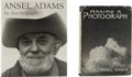Books:First Editions, Ansel Adams. Two books, including: Making a Photograph.1935. First edition.... (Total: 2 Items)