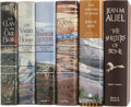 Books:Signed Editions, Jean M. Auel. The Complete Earth's Children Series - First Editions, Signed by the Author.... (Total: 6 Items)