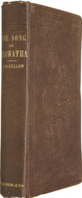 Books:First Editions, Henry Wadsworth Longfellow. The Song of Hiawatha. Boston:Ticknor and Fields, 1855....