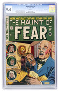 Golden Age (1938-1955):Horror, Haunt of Fear #8 Gaines File pedigree 12/12 (EC, 1951) CGC NM 9.4White pages....