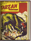 Golden Age (1938-1955):Adventure, Tarzan Adventures UK Comics Group (United Features Syndicate, 1953-59) Condition: Average VG/FN.... (Total: 232 Comic Books)