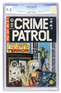 Golden Age (1938-1955):Crime, Crime Patrol #15 Gaines File pedigree 6/11 (EC, 1950) CGC NM 9.4 Off-white to white pages....