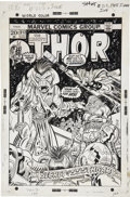 Original Comic Art:Covers, Gil Kane and Frank Giacoia Thor #212 Cover Original Art(Marvel, 1973)....