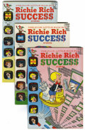 Silver Age (1956-1969):Humor, Richie Rich Success Stories File Copies Group (Harvey, 1966-82) Condition: Average NM....