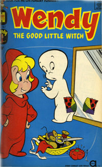 Wendy, the Good Little Witch and Harvey Hits File Copies Bound Volume (Harvey, 1958-62)